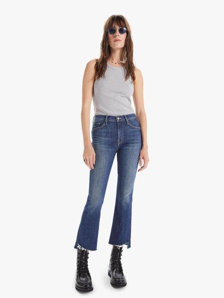 Mother Denim Step Fray Insider Crop Jean - Step