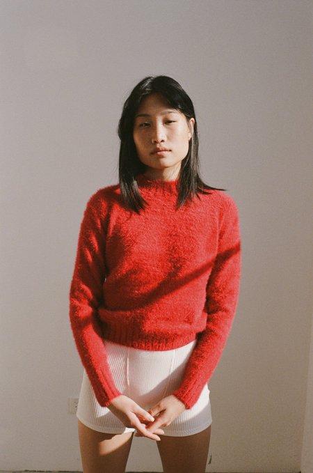 NEUW Kate Knit Jumper sweater - Deep Red