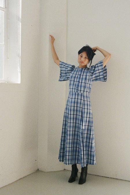 permanent vacation Perception Dress - Plaid