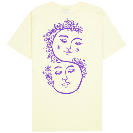Stüssy Sound Of Summer Tee - Pale Yellow
