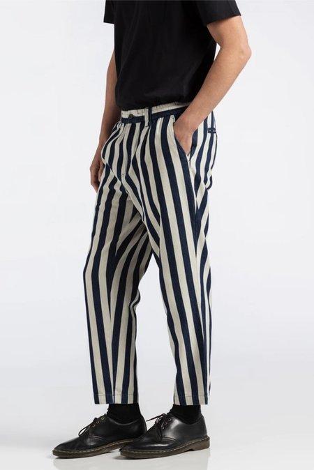 Banks Journal Supply Chambray Pant - Stripe