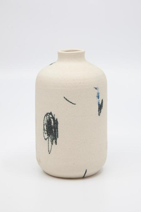 Daren Wilson Dry Bud Vase 7 - Cream