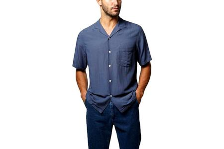 Portuguese Flannel Catown Shirt - Blue