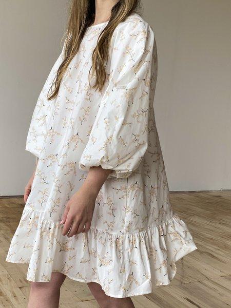 Naya Rea Stella Dress - White/Pink Floral