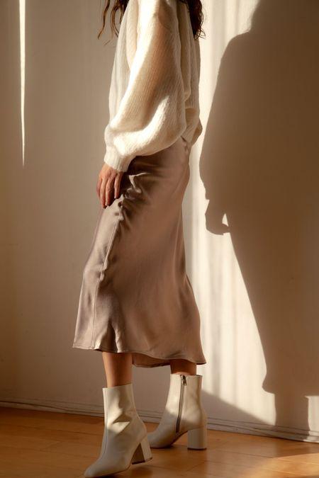 Angie Bauer Ysabel Skirt - Almond