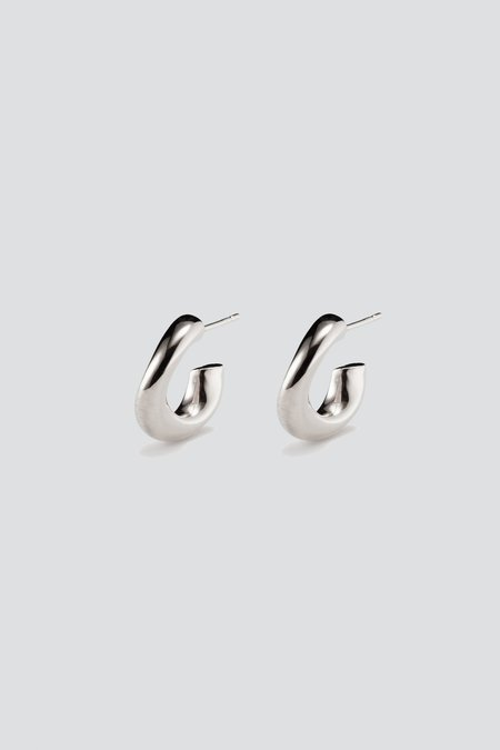 AGMES Mini Astrid Hoops - Sterling Silver