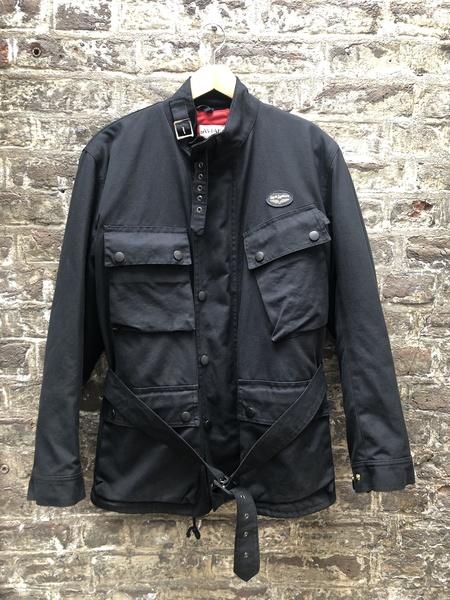 [Pre-Loved] Lewis Leathers Wax Jacket - Black