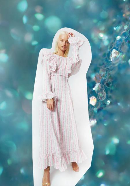 Cras Moricras Dress - Begonia Pink