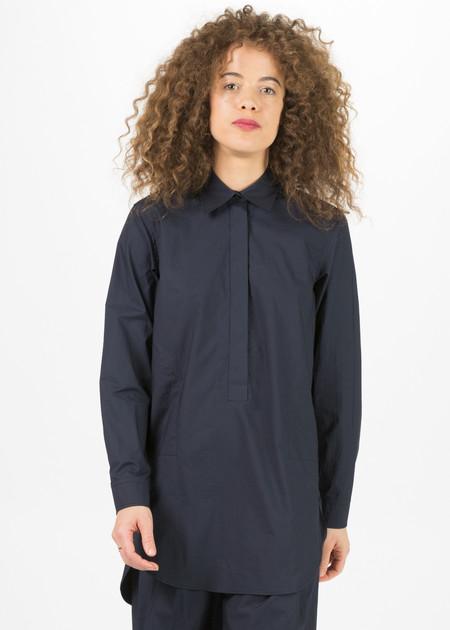 Odeeh Long Shirt with Hidden Placket