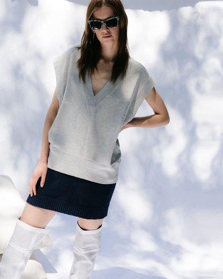 Paloma Wool Kadabra Knit Skirt - Dark Navy