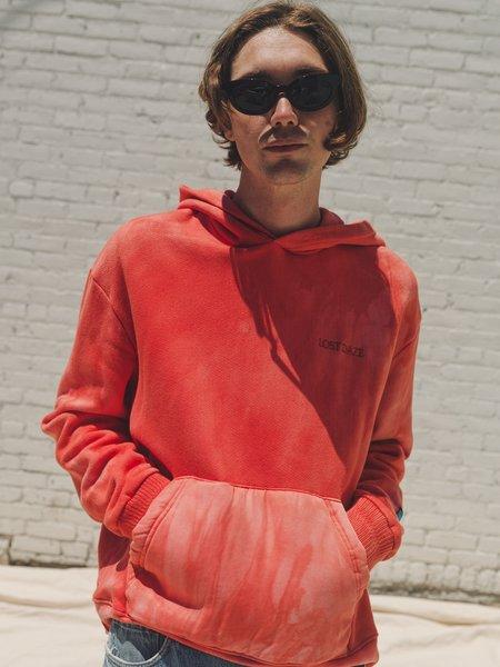Lost Daze Tie Dye Zenith Hoodie - Red