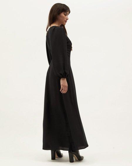 Dominique Healy Next Lifetime Dress - Black Silk
