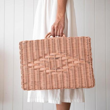 Olli Ella Toaty Trunk Large bag - Rose