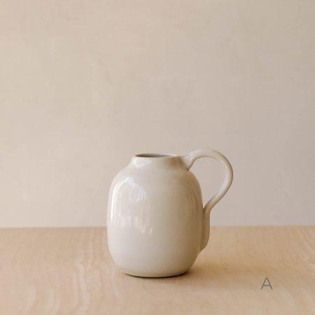 Wild Harvest Botanicals Ceramic Vase - White