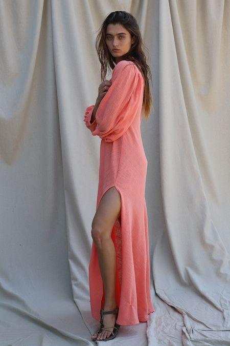 Jen's Pirate Booty Sugarcane Maxi Dress- Papaya