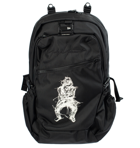 Yohji Yamamoto Printed Backpack - Black
