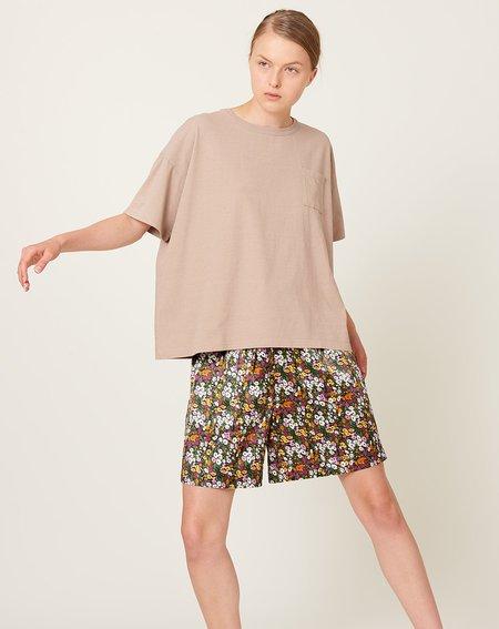 ICHI ANTIQUITES Dry Jersey T-Shirt - Beige