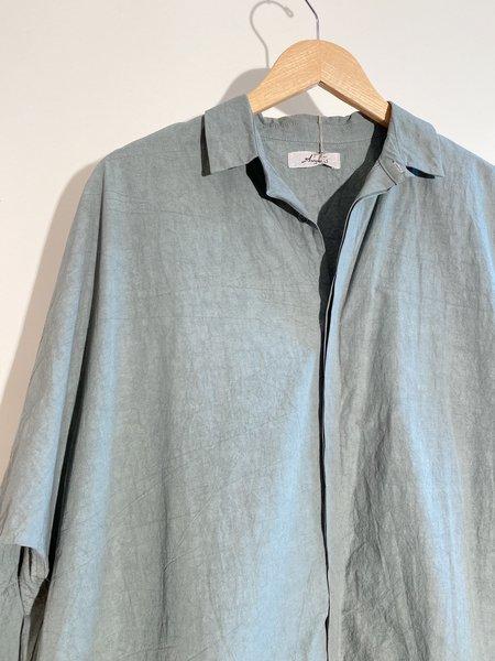 ICHI ANTIQUITES Typewriter Shirt Dress - Khaki