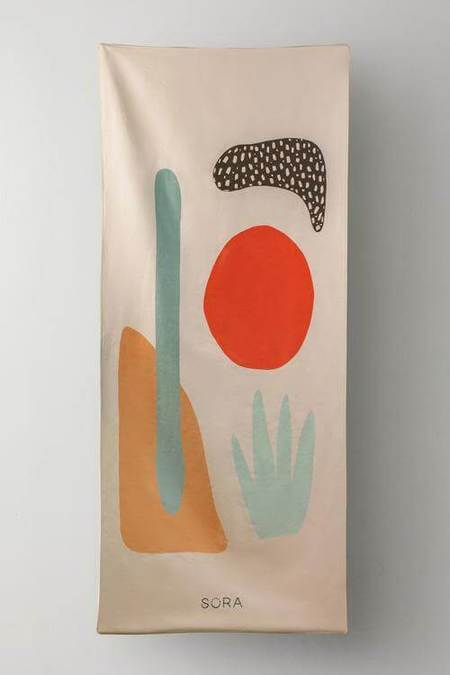 SORA Beach Towel - Desert Sun