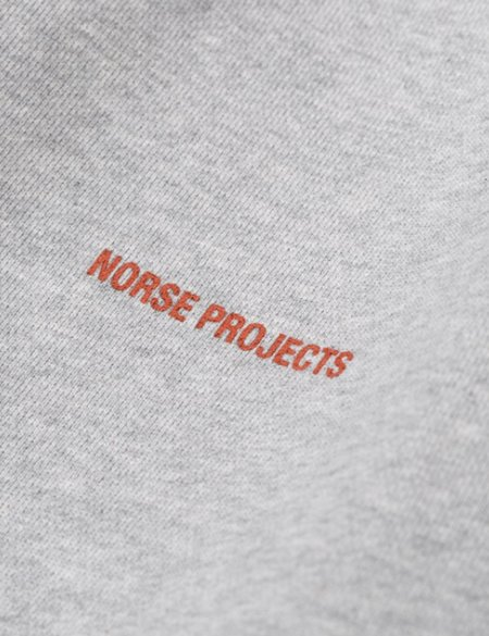 Norse Projects Vagn Norse Projects Logo Sweatshirt - Grey