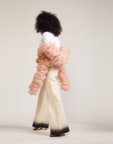 Cynthia Rowley Tulle Boa scarf - Blush