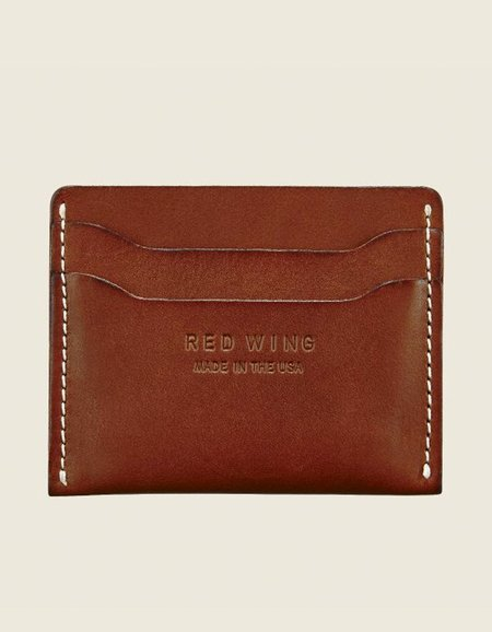 Red Wing Shoes Card Holder - Oro Russet Frontier