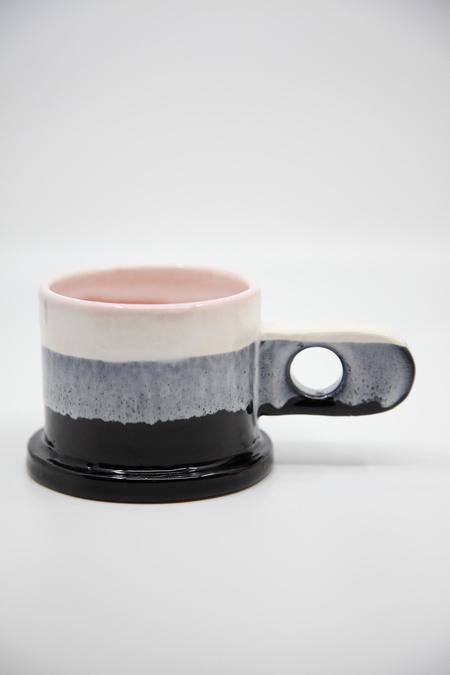 Peter Shire Dipped Mug - Black/White