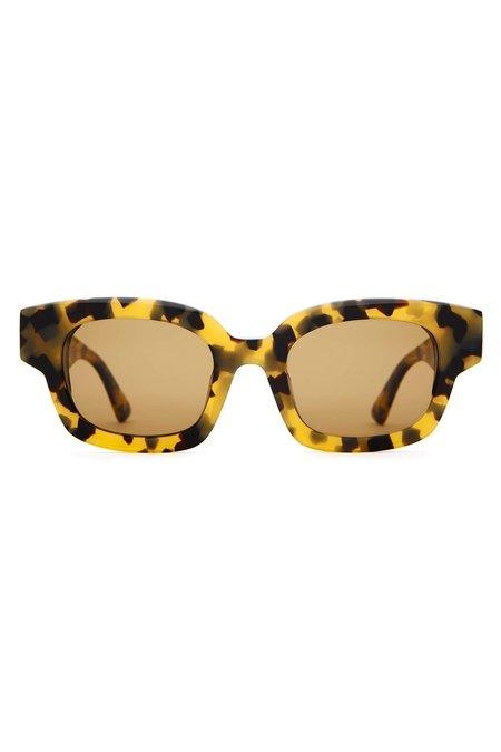 Crap Eyewear The Astro Dazey Sunglass - Leopard Tortoise Bio