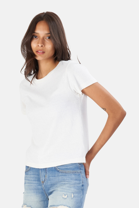 RE/DONE The Classic TShirt - Vintage White