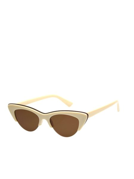 Reality Eyewear Loren Sunglasses - Beige