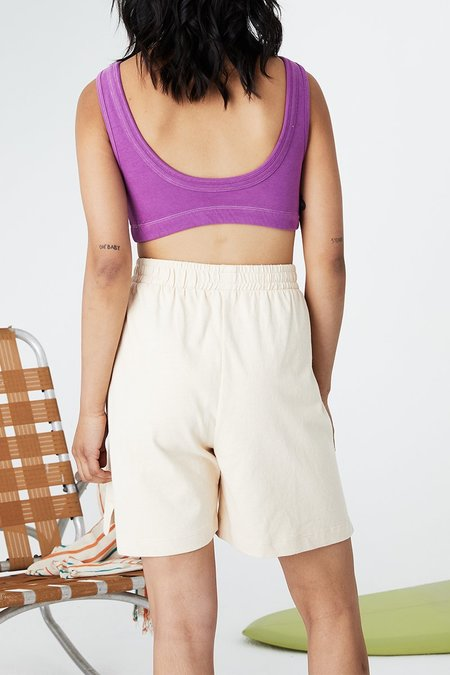 Unisex back beat rags Everybody Shorts - Cereal