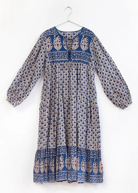 Matta NY Kajal Iniya Dress - Sapphire