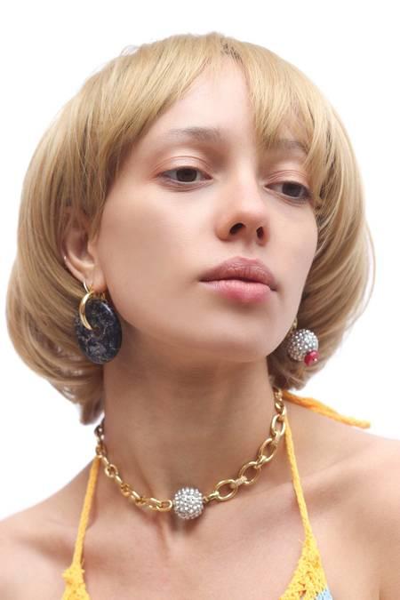 Serendipitous Project Disco Necklace