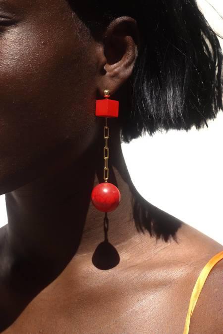 Serendipitous Project Matador Earrings