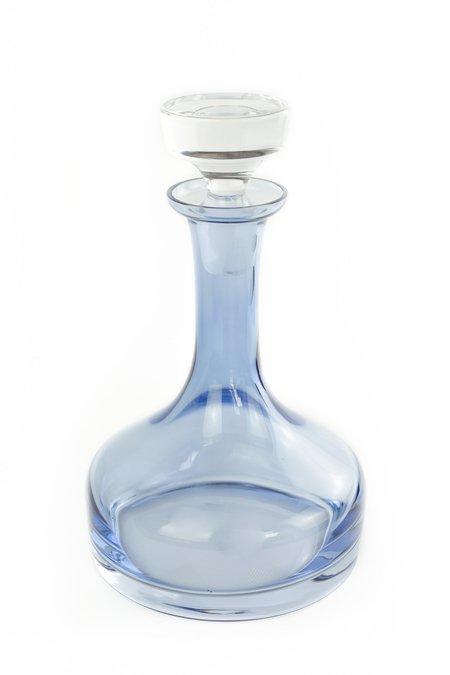 Estelle Colored Glass Vogue Decanter - Cobalt Blue