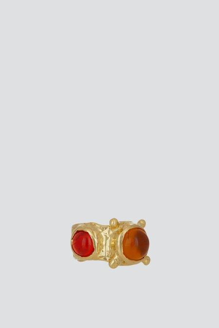 Mondo Mondo Pulp Ring - Yellow/Orange