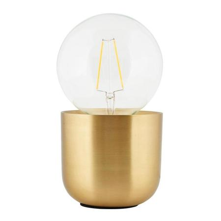 HOUSE DOCTOR Gleam Lable Lamp - Brass