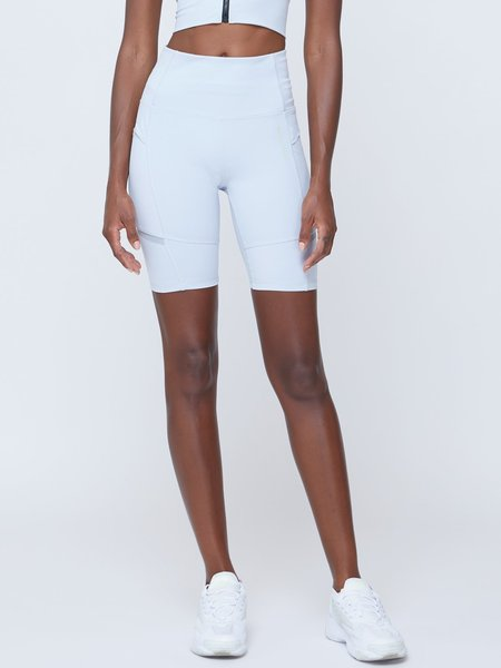 VOICE OF INSIDERS Futuristic Cycle pockets Shorts - Grey Dawn