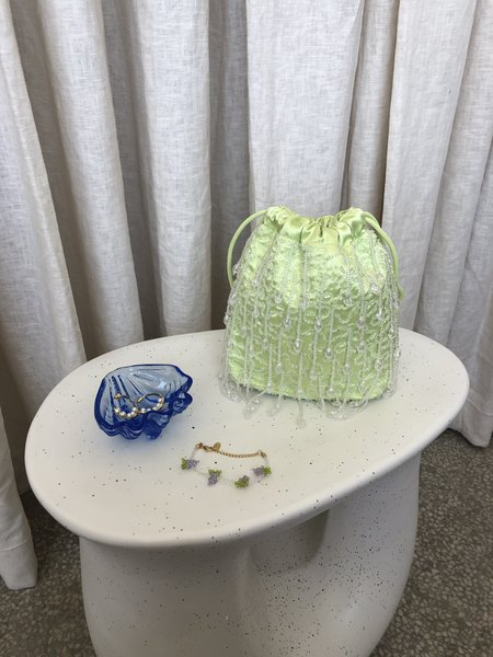 Vintage Glass Shell Ring Dish