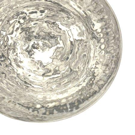 Makiko Hicher-Nakamura Platter - Marbled Clays