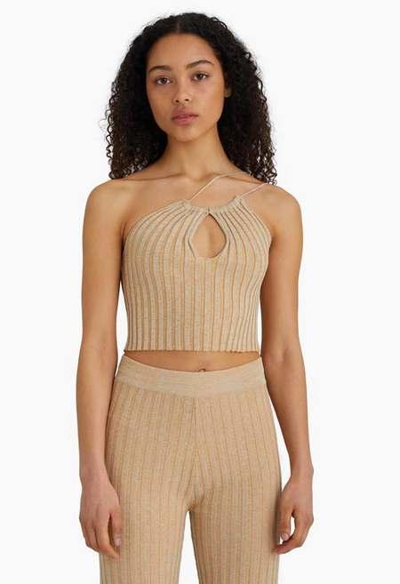 Paloma Wool Block Top - Beige