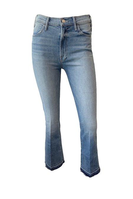 Mother Denim Hustler Ankle Undone Hem Jeans - On My Feet