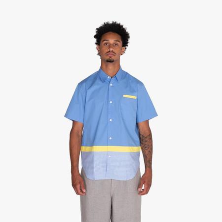 COMME des GARÇONS HOMME Button Up Shirt - Sax