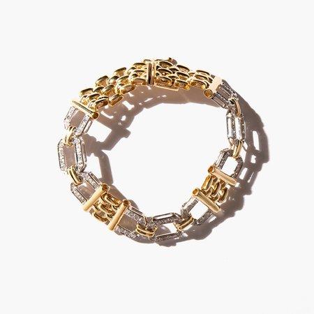 Kindred Black Gosain Bracelet - 14k gold