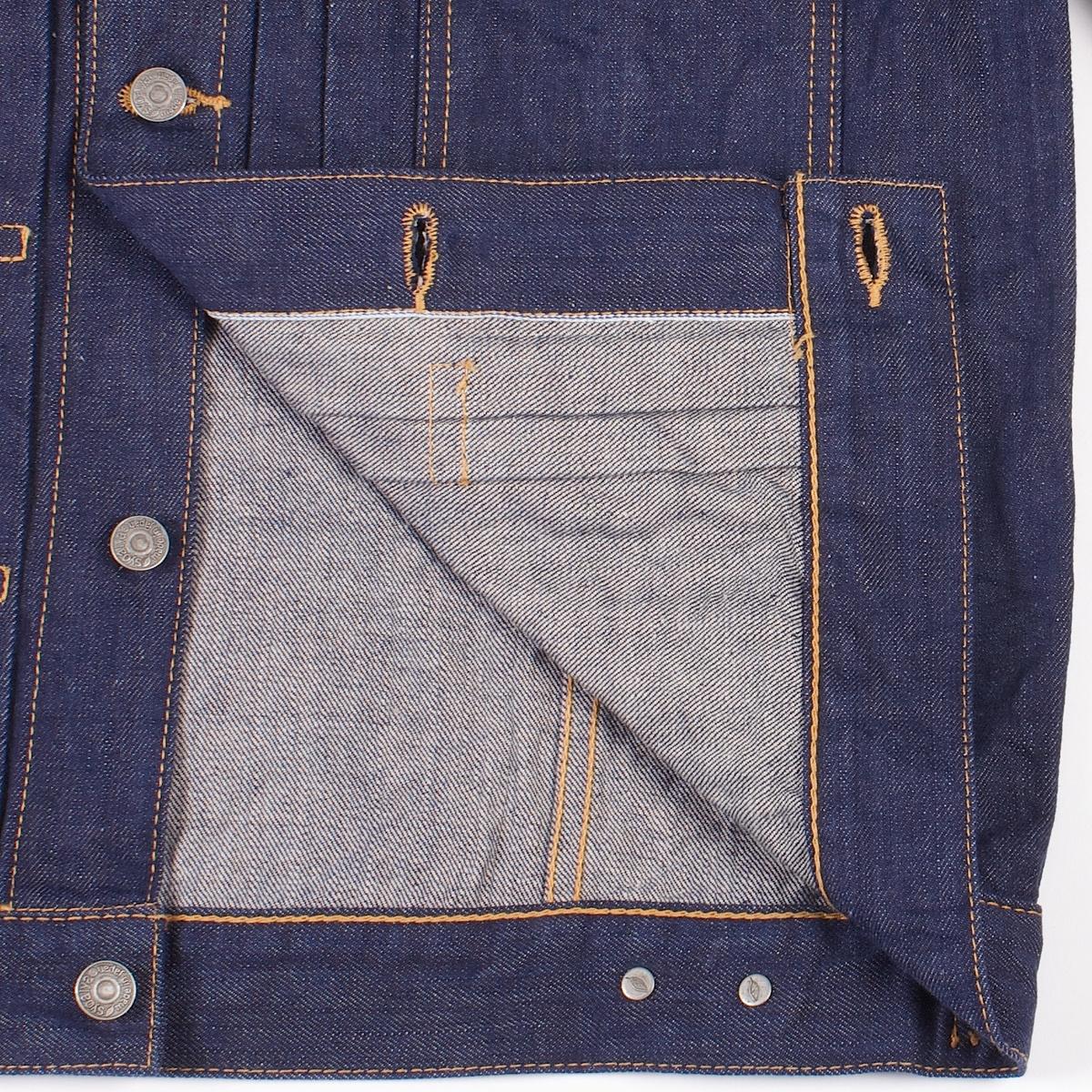 Pure Blue Japan Denim Jacket