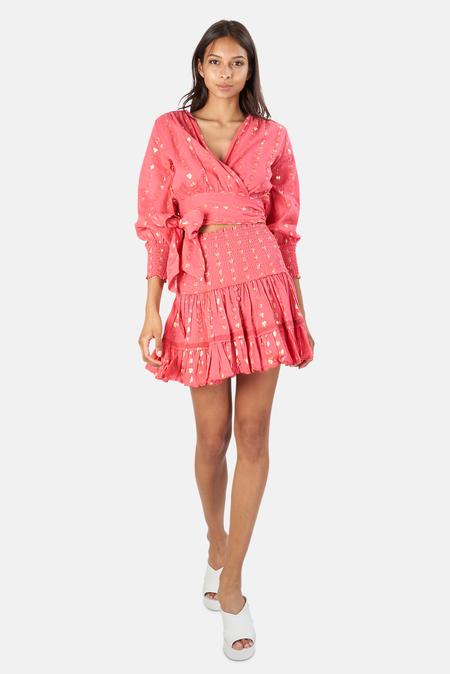 Sunday Saint Tropez Pomponette Skirt - Hibiscus