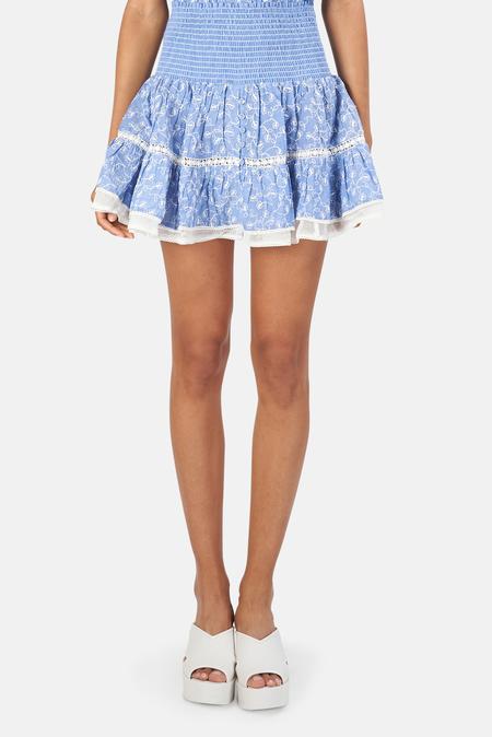 Sunday Saint Tropez Pomponette Skirt - Chambray
