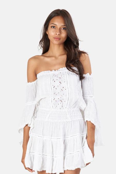 Sunday Saint Tropez Cecilia Dress - White