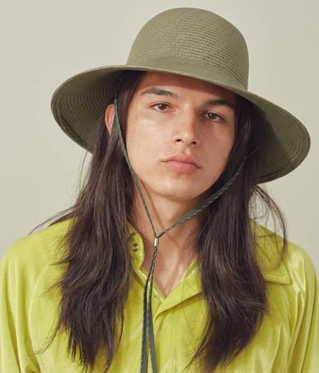 Clyde Koh Hat - Zucchini Panama Straw