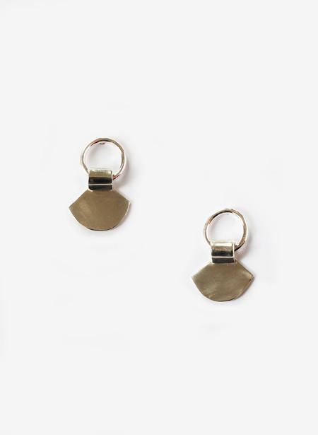 Rachel Gunnard Silver Fan Earrings